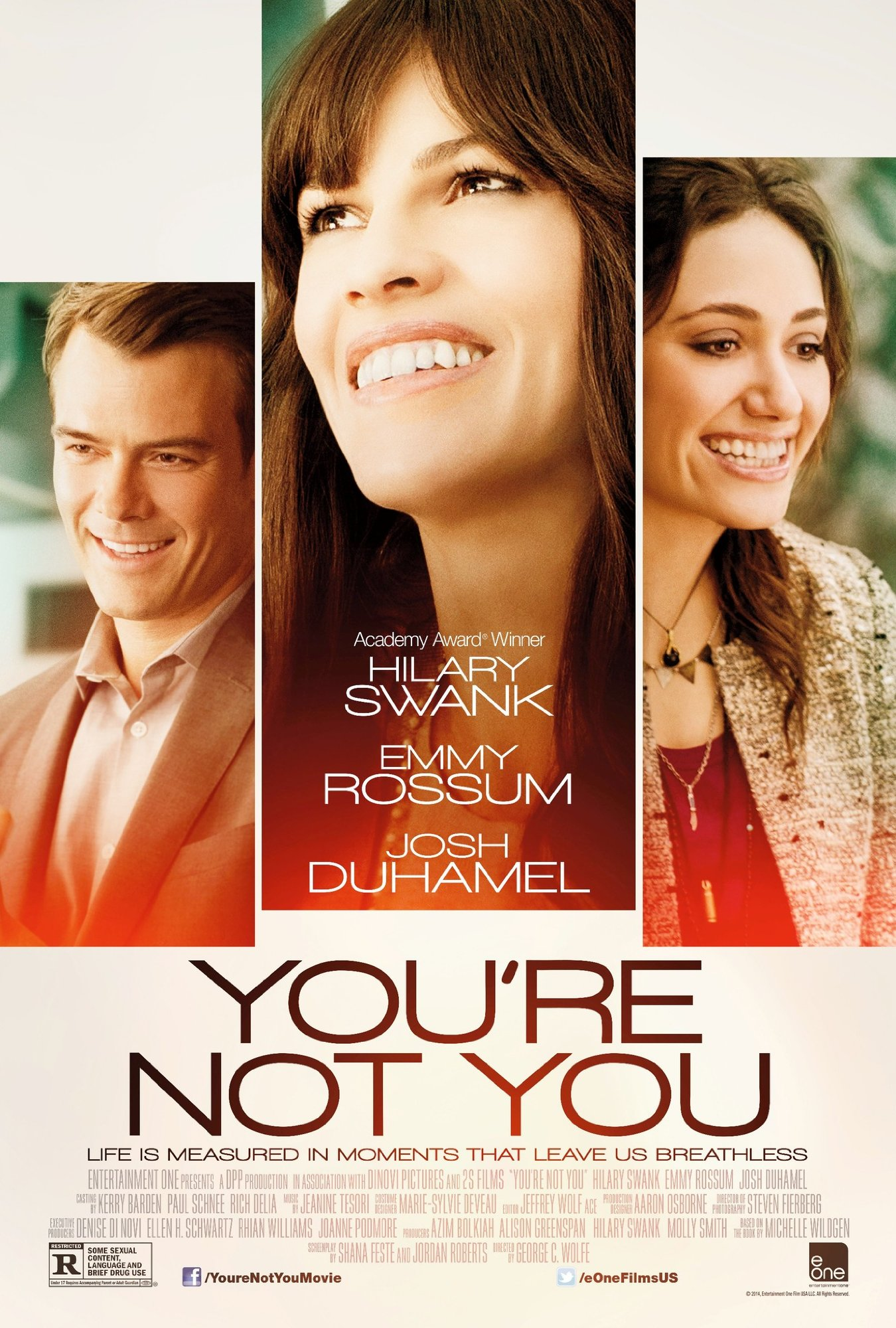 YOU'RE NOT YOU-Official Poster Banner PROMO-07OUTUBRO2014-00