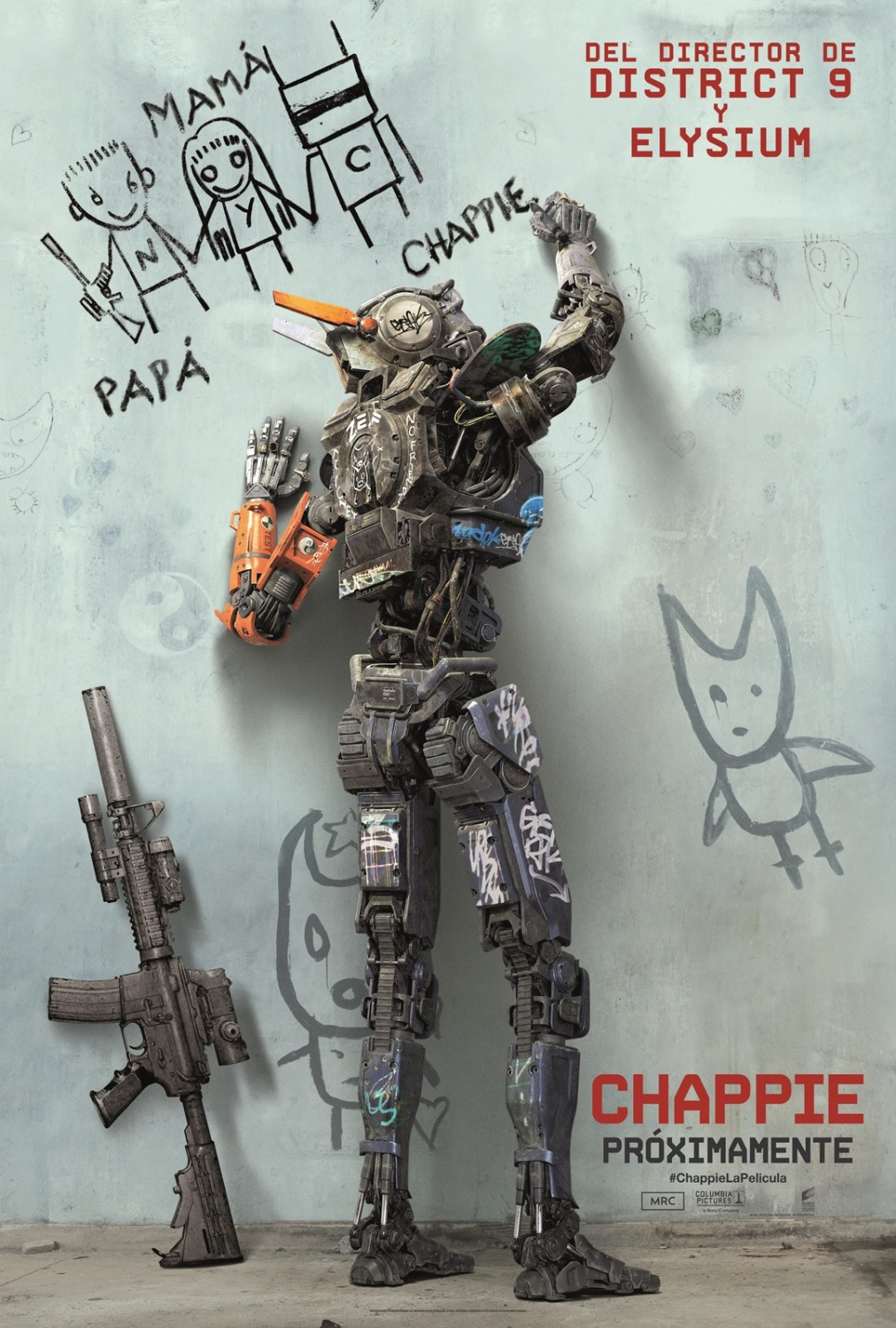 Chappie-Official Poster Banner XXLG-18NOVEMBRO2014