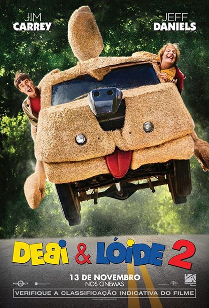 Dumb and Dumber To-Official Poster Banner PROMO NACIONAL