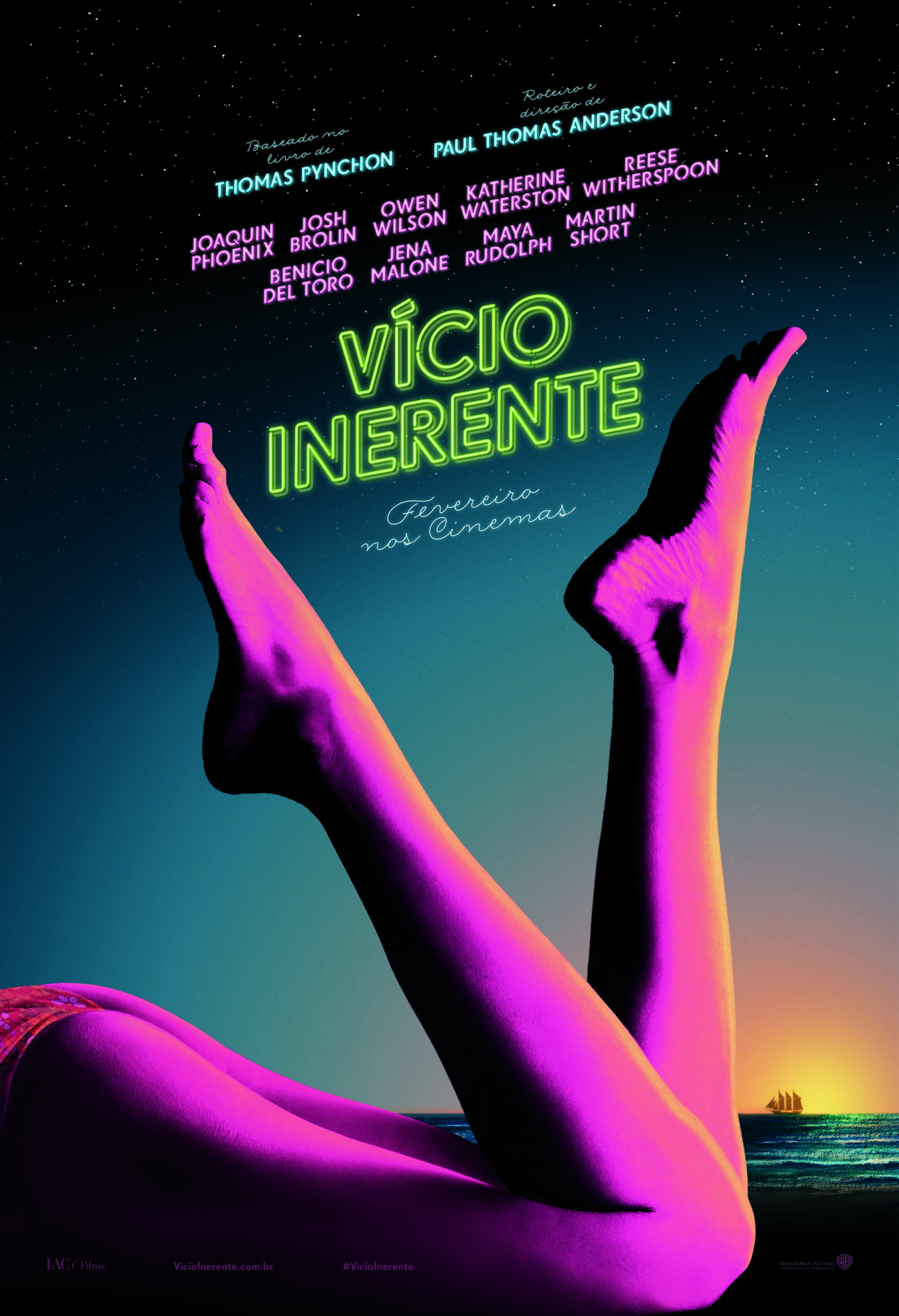 Inherent Vice-Official Poster NACIONAL-05NOVEMBRO2014