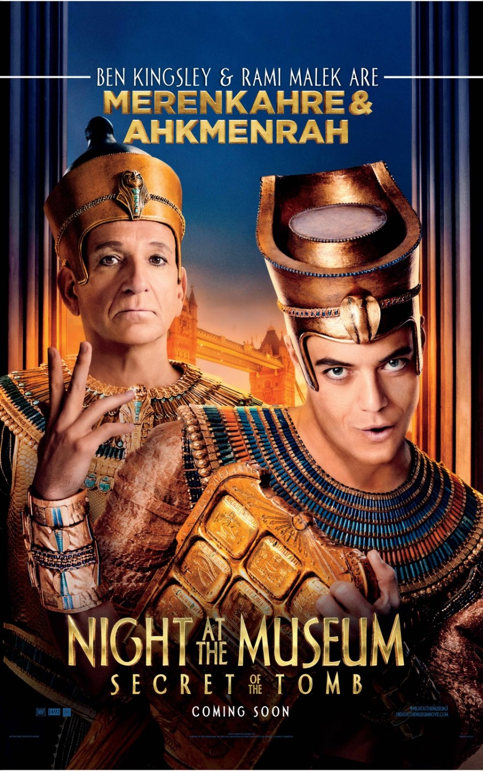 Night at the Museum Secret of the Tomb-Official Poster-17NOVEMBRO2014-02