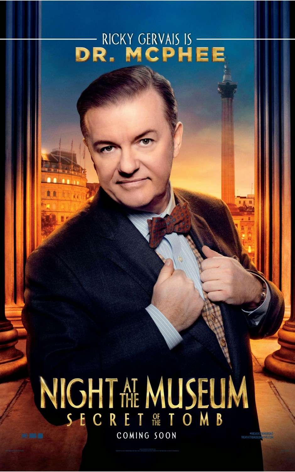 Night at the Museum Secret of the Tomb-Official Poster-17NOVEMBRO2014-03