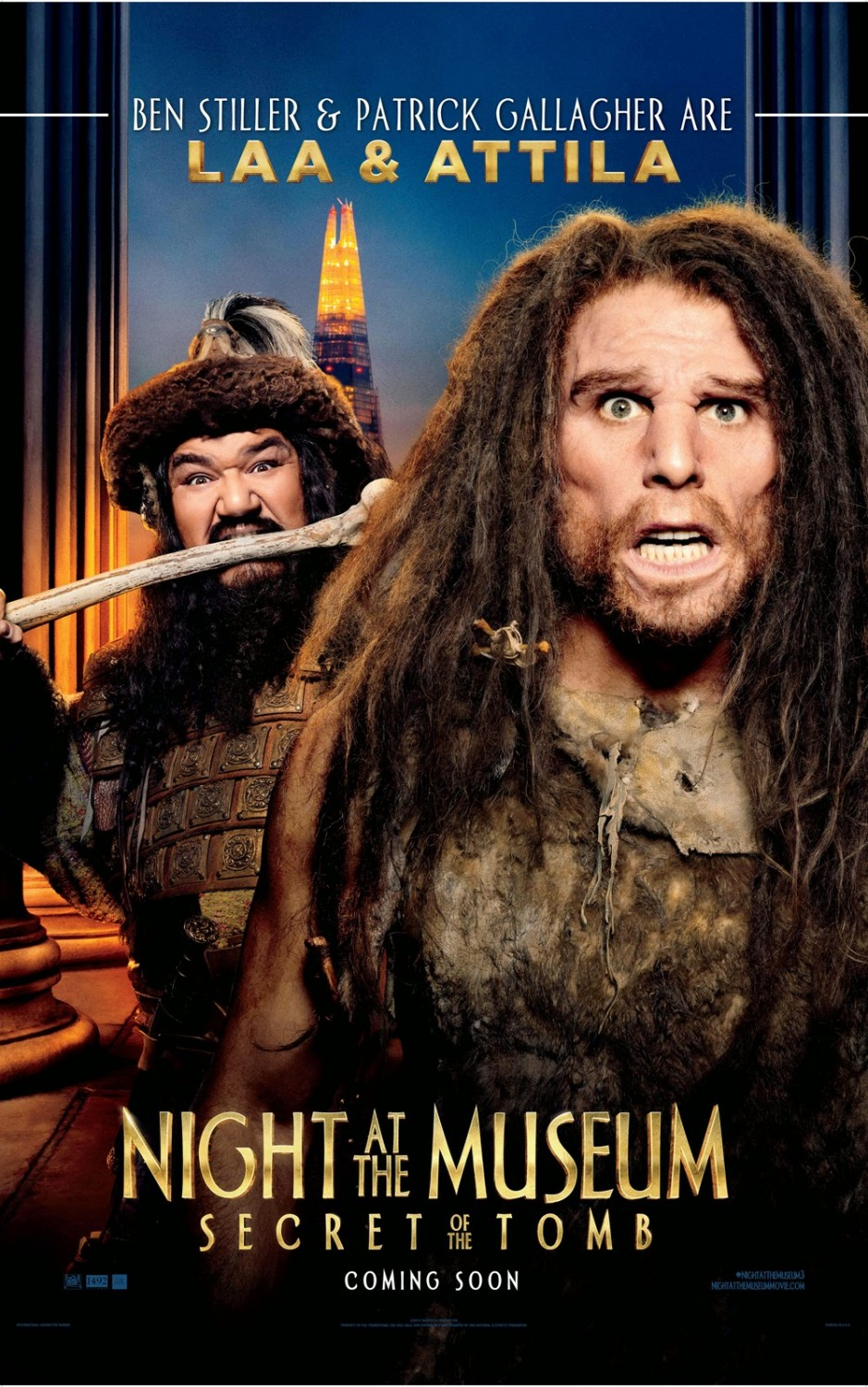 Night at the Museum Secret of the Tomb-Official Poster-17NOVEMBRO2014-07