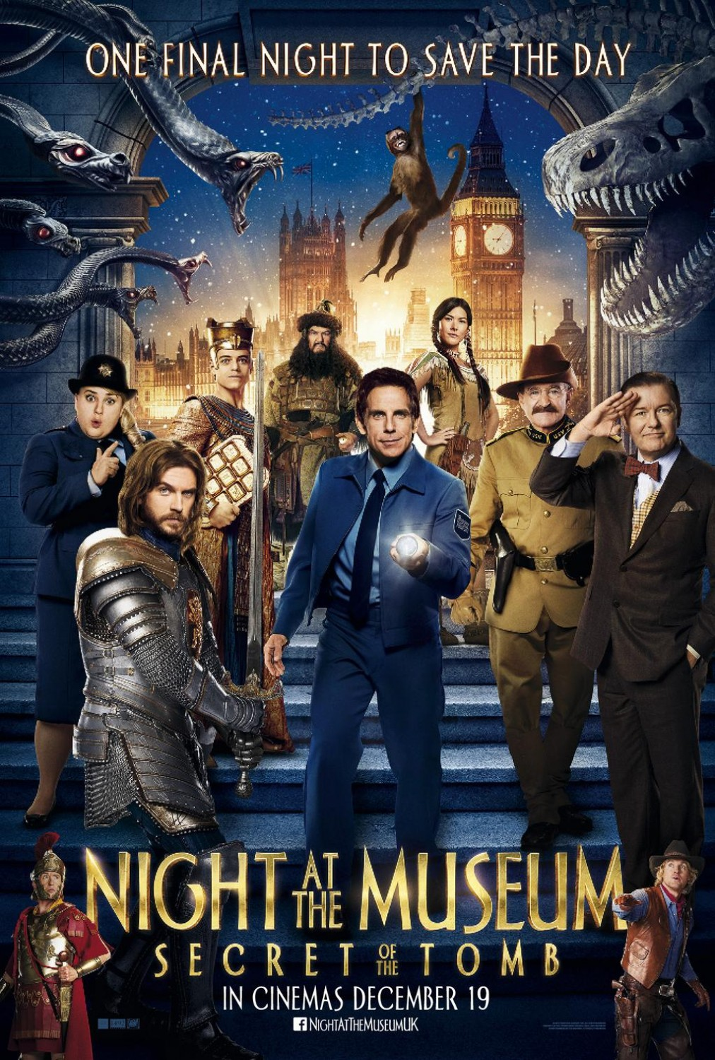 Night at the Museum Secret of the Tomb-Official Poster-17NOVEMBRO2014-10