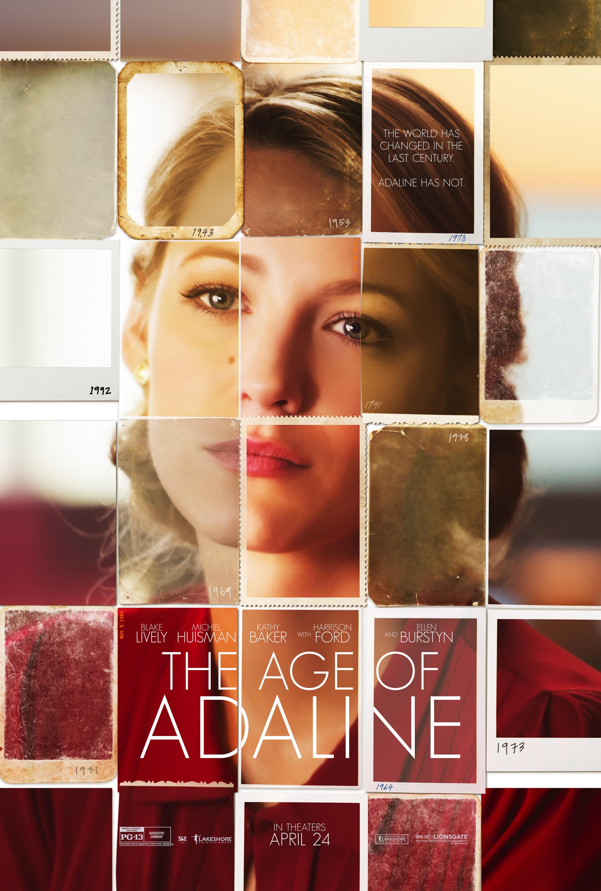 The Age of Adaline-Official Poster Banner XXLG-20NOVEMBRO2014