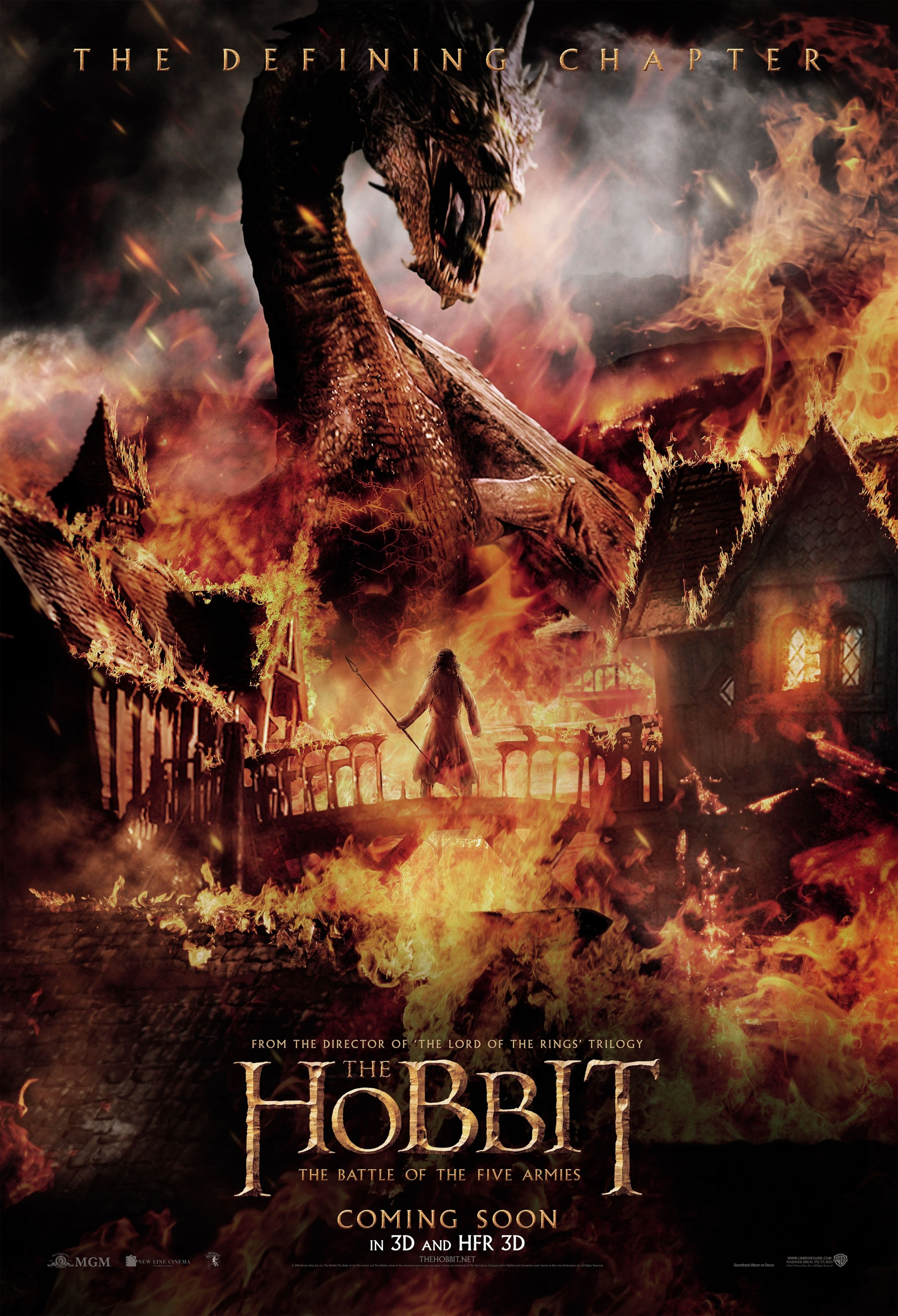 The Hobbit The Battle of the Five Armies-Official Poster XXLG-14NOVEMBRO2014-00