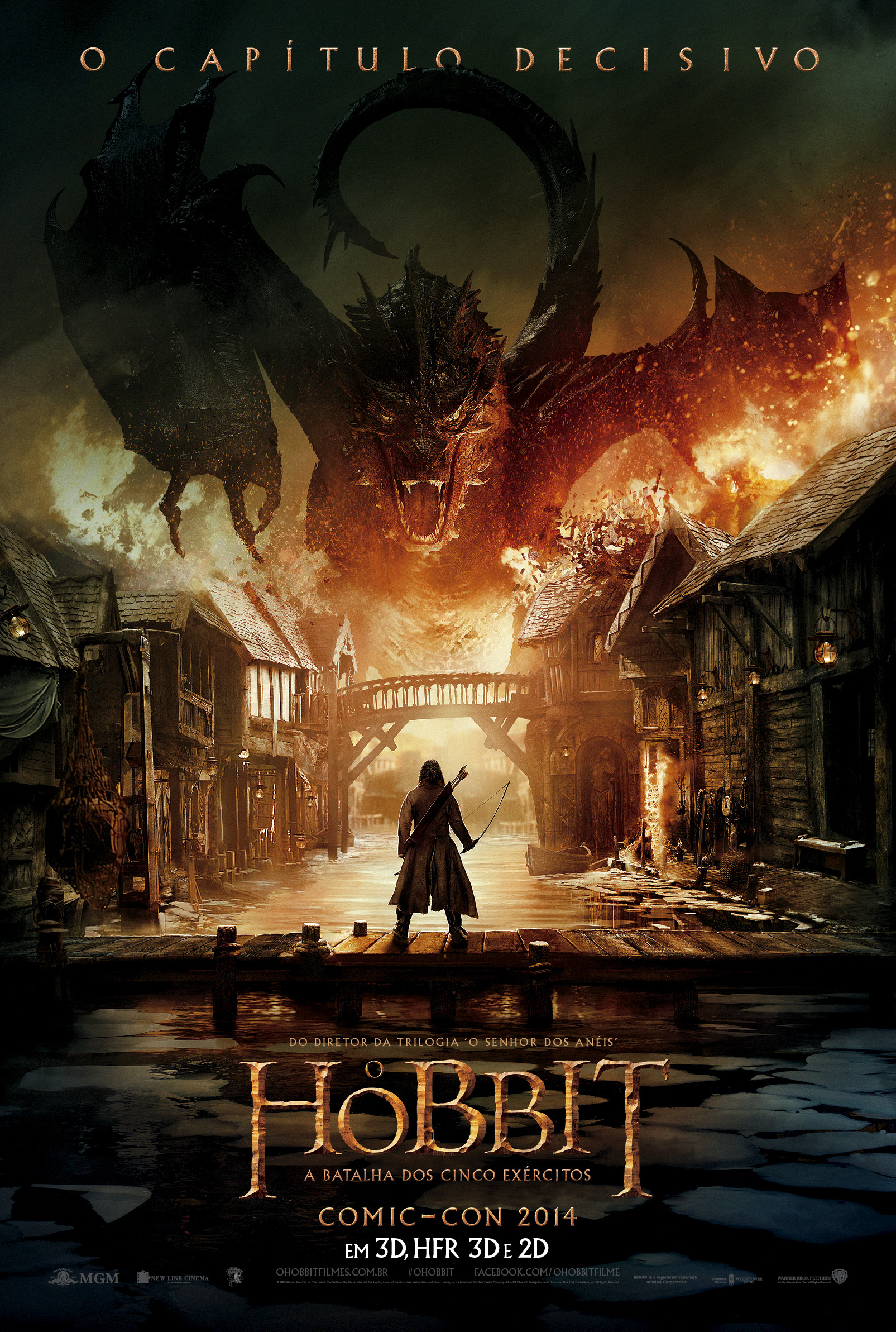 The Hobbit The Battle of the Five Armies-Official brasil POSTER-14NOVEMBRO2014-01