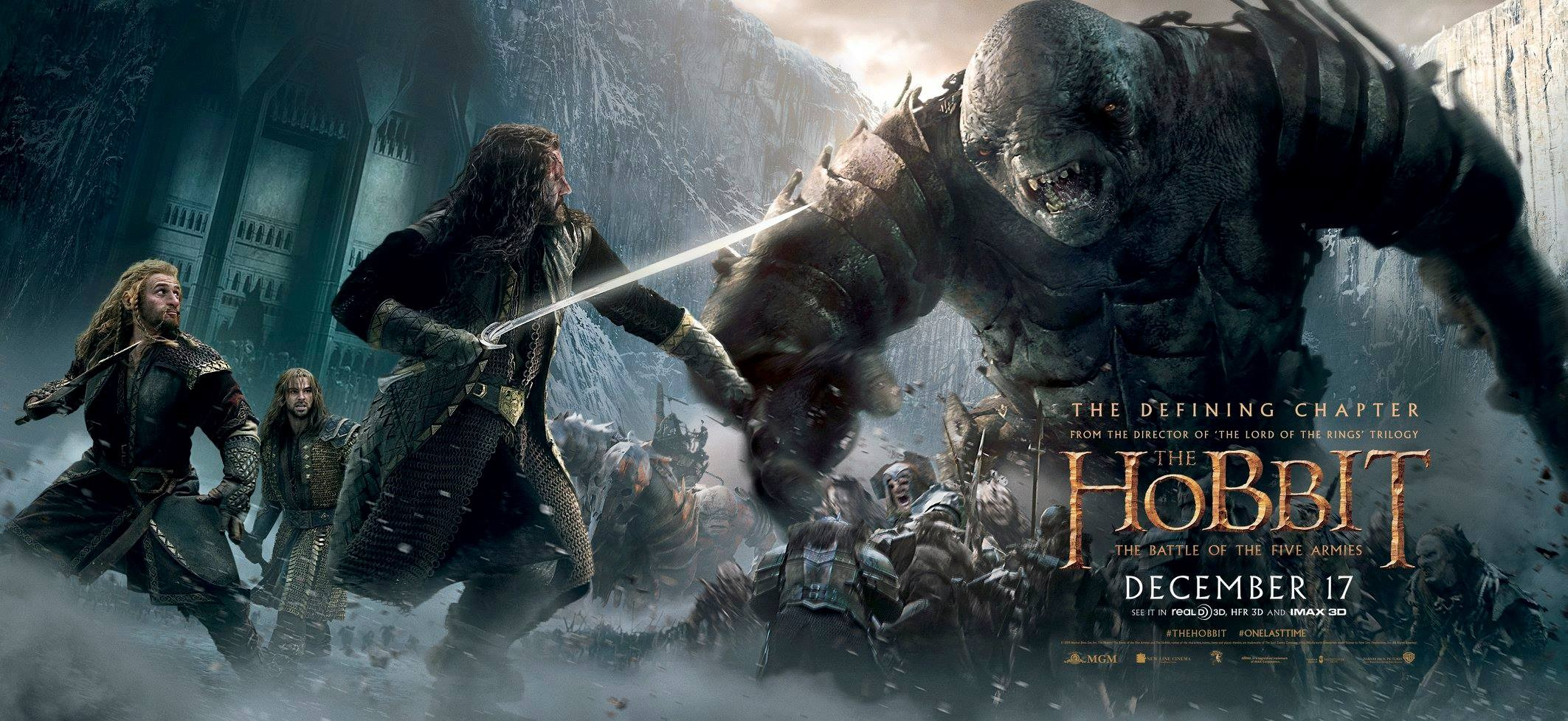 The Hobbit The Battle of the Five Armies-PROMO BANNER XXLG-05NOVEMBRO2014-01