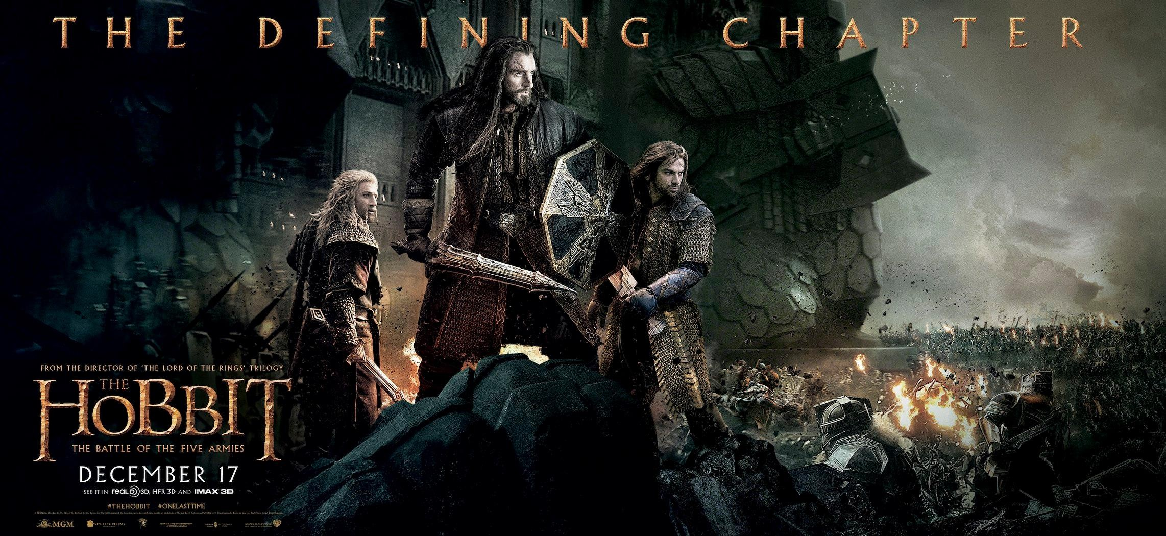 The Hobbit The Battle of the Five Armies-PROMO BANNER XXLG-05NOVEMBRO2014-02