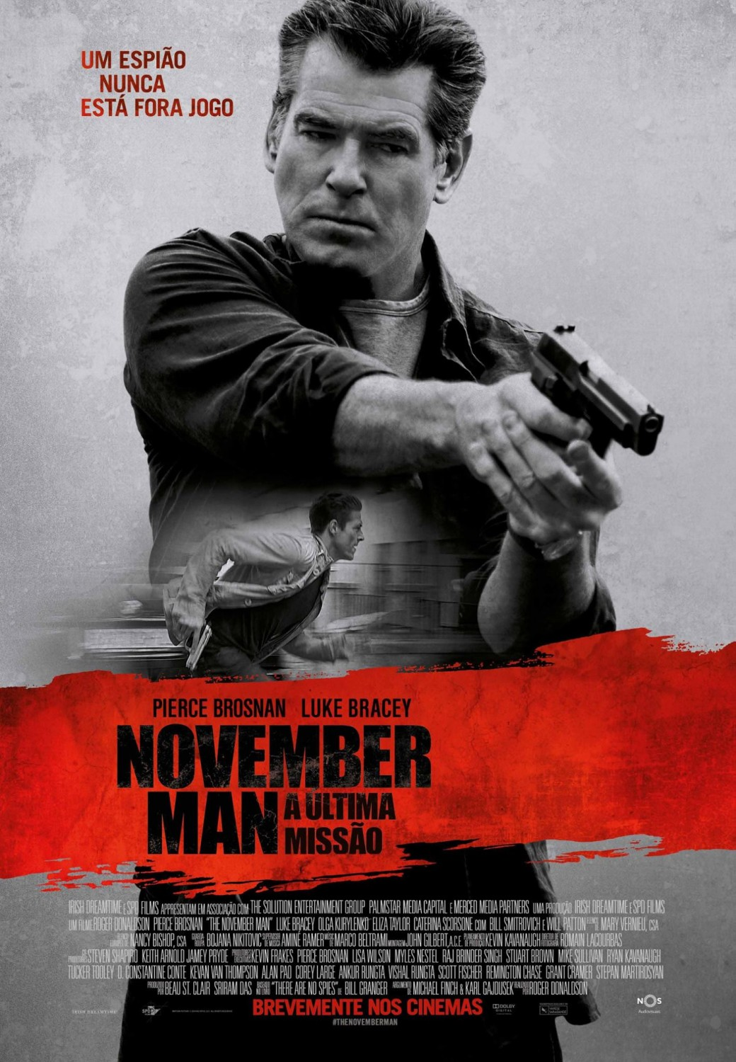 The November Man-Official Poster Banner NACIONAL-30JULHO2014