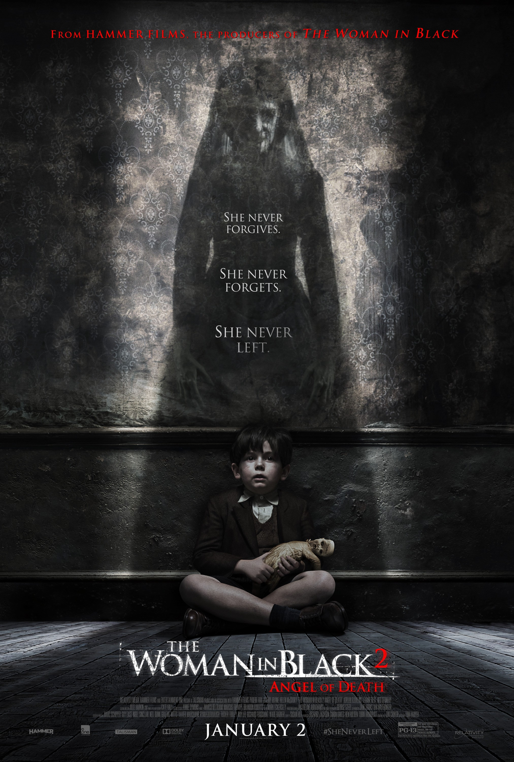 The Woman in Black Angel of Death-Official Poster XXLG-05NOVEMBRO2014