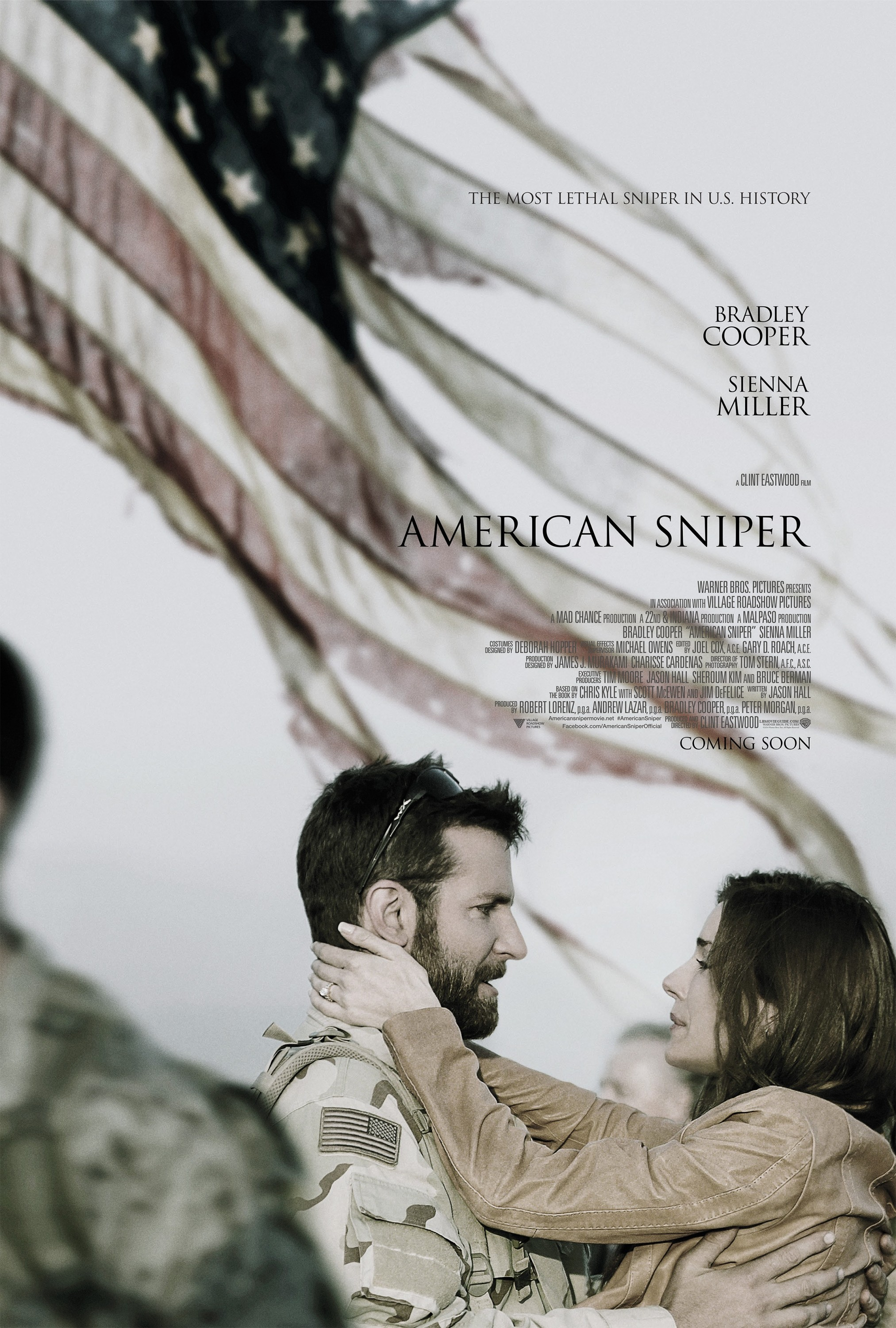 American Sniper-Official Poster XXLG-18DEZEMBRO2014