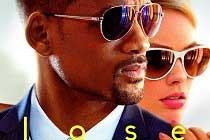 CARTAZES de GOLPE DUPLO traz como destaque Will Smith e Margot Robbie; Thriller ganha novo TRAILER