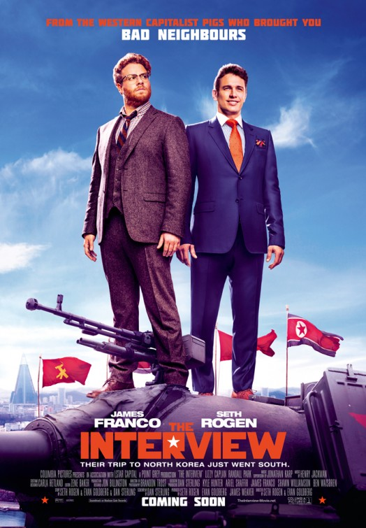 The Interview-Official Poster-15DEZEMBRO2014