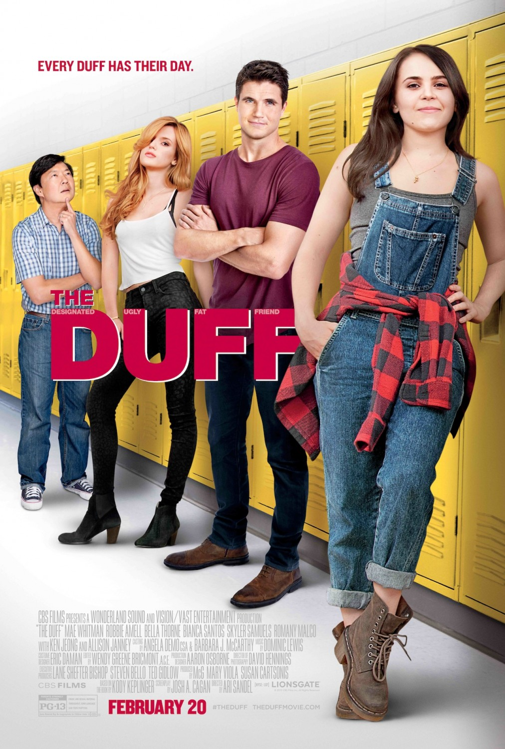 The DUFF-Official Poster XLG-27JANEIRO2015