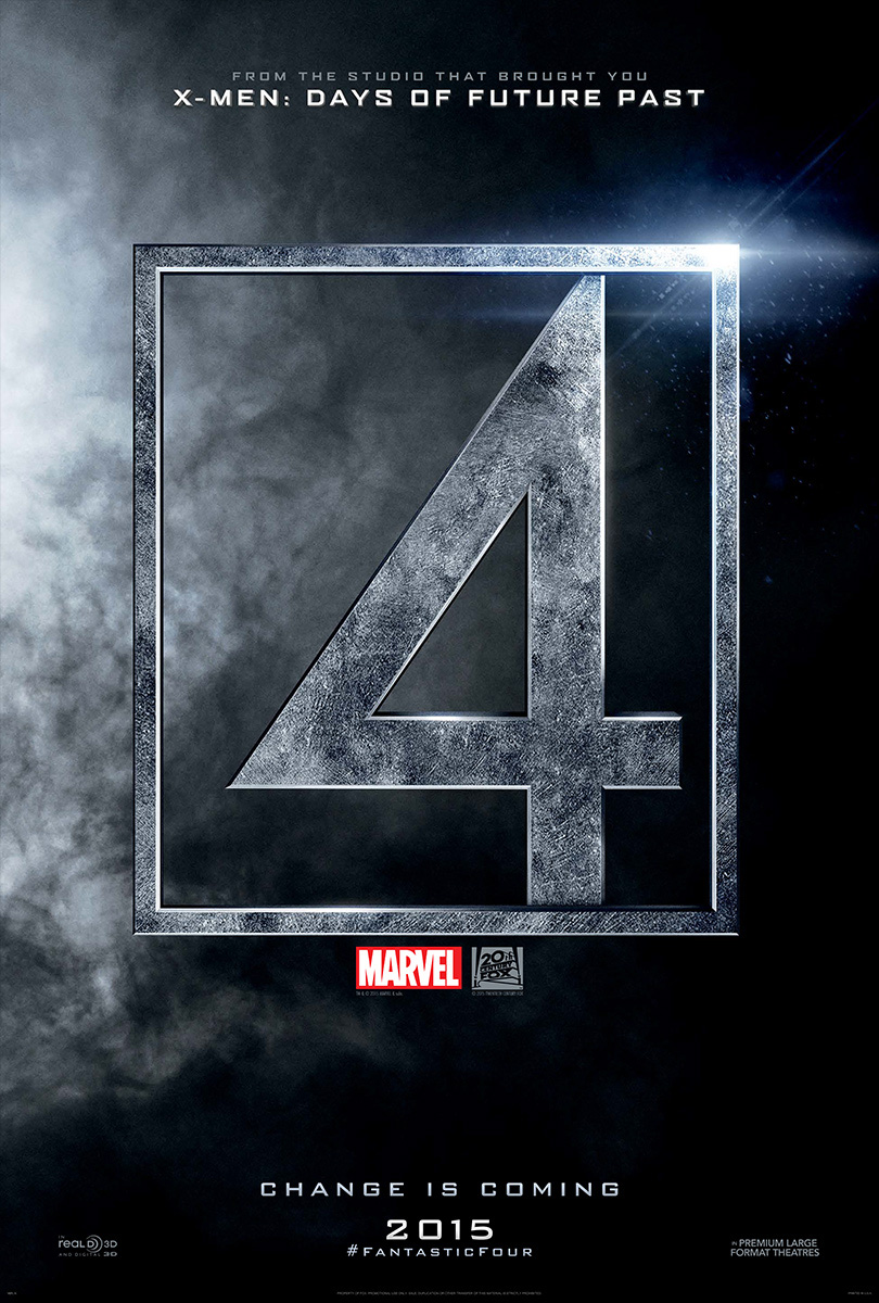 The Fantastic Four-Official Poster-27JANEIRO2015