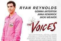 Ryan Reynolds aparece mais novo e vestido rosa no PÔSTER de THE VOICES