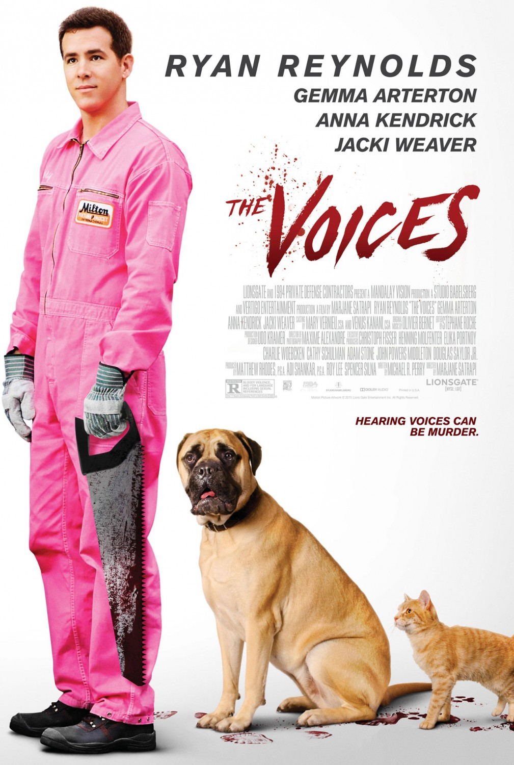 The Voices-Official Poster-16JANEIRO2015