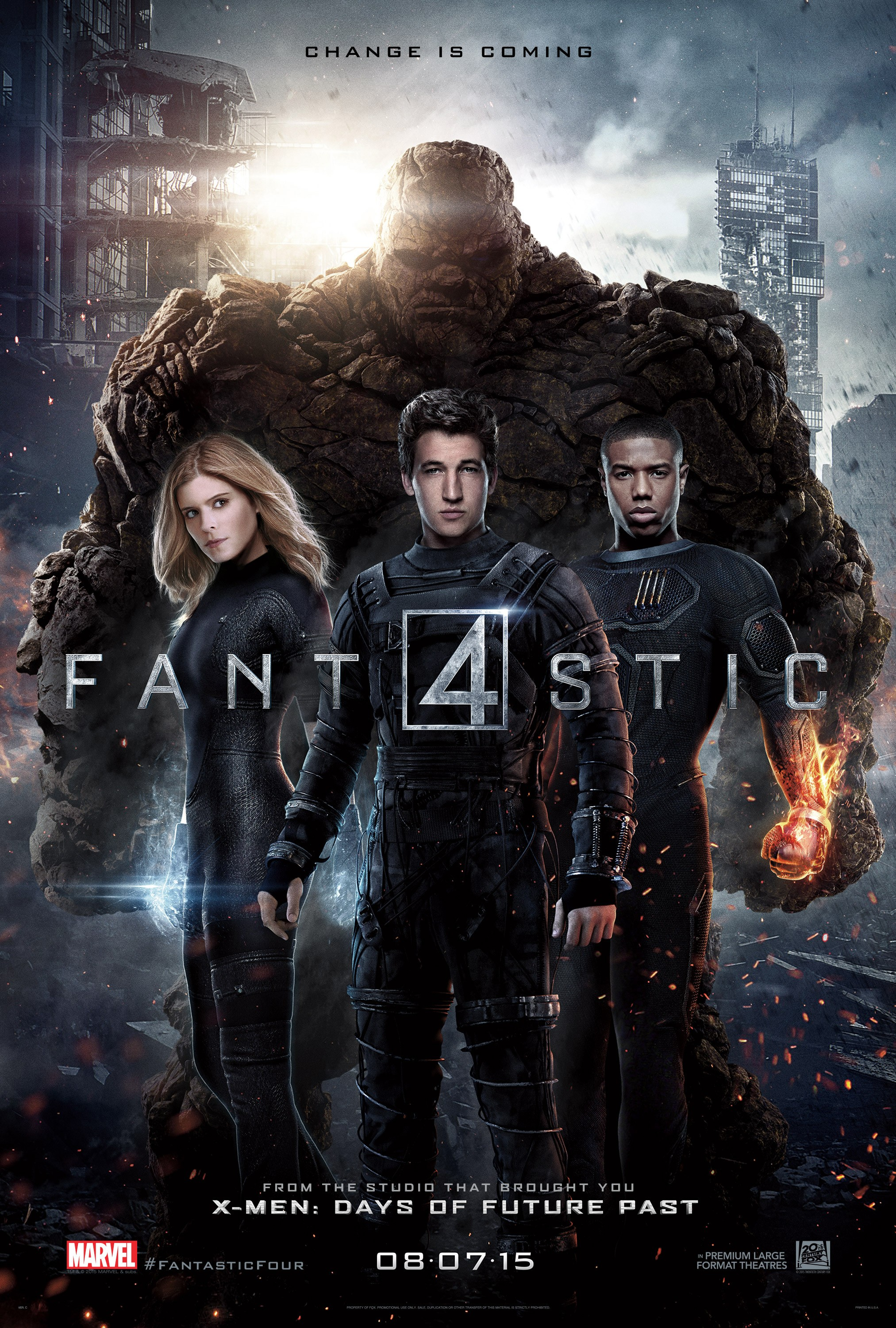 The Fantastic Four-Poster XXLG-20Abril2015-00