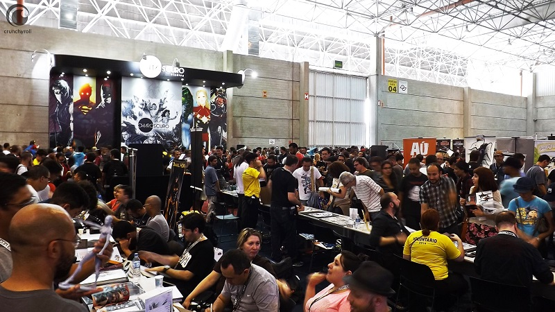 CCXP - Comic Con Experience 2015-Artists' Alley