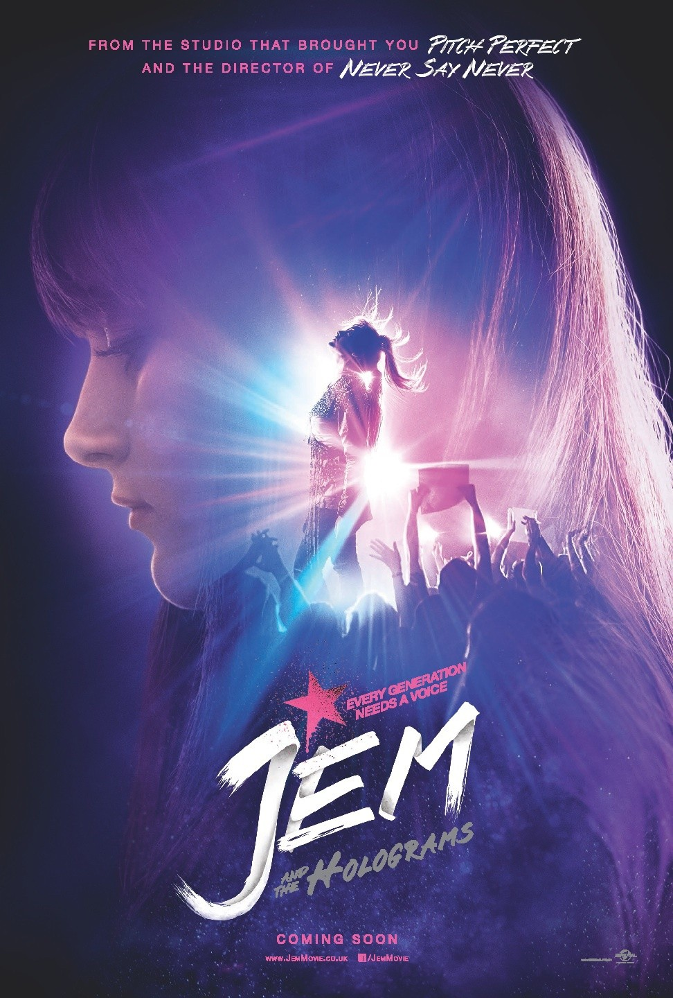 Jem e as Hologramas-First Poster-13Maio2015