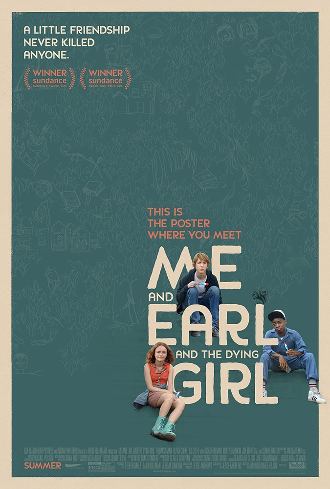 Me and Earl and the Dying Girl-Poster-26Maio2015
