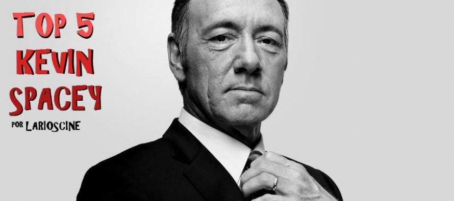 Top 5 personagens interpretados por Kevin Spacey