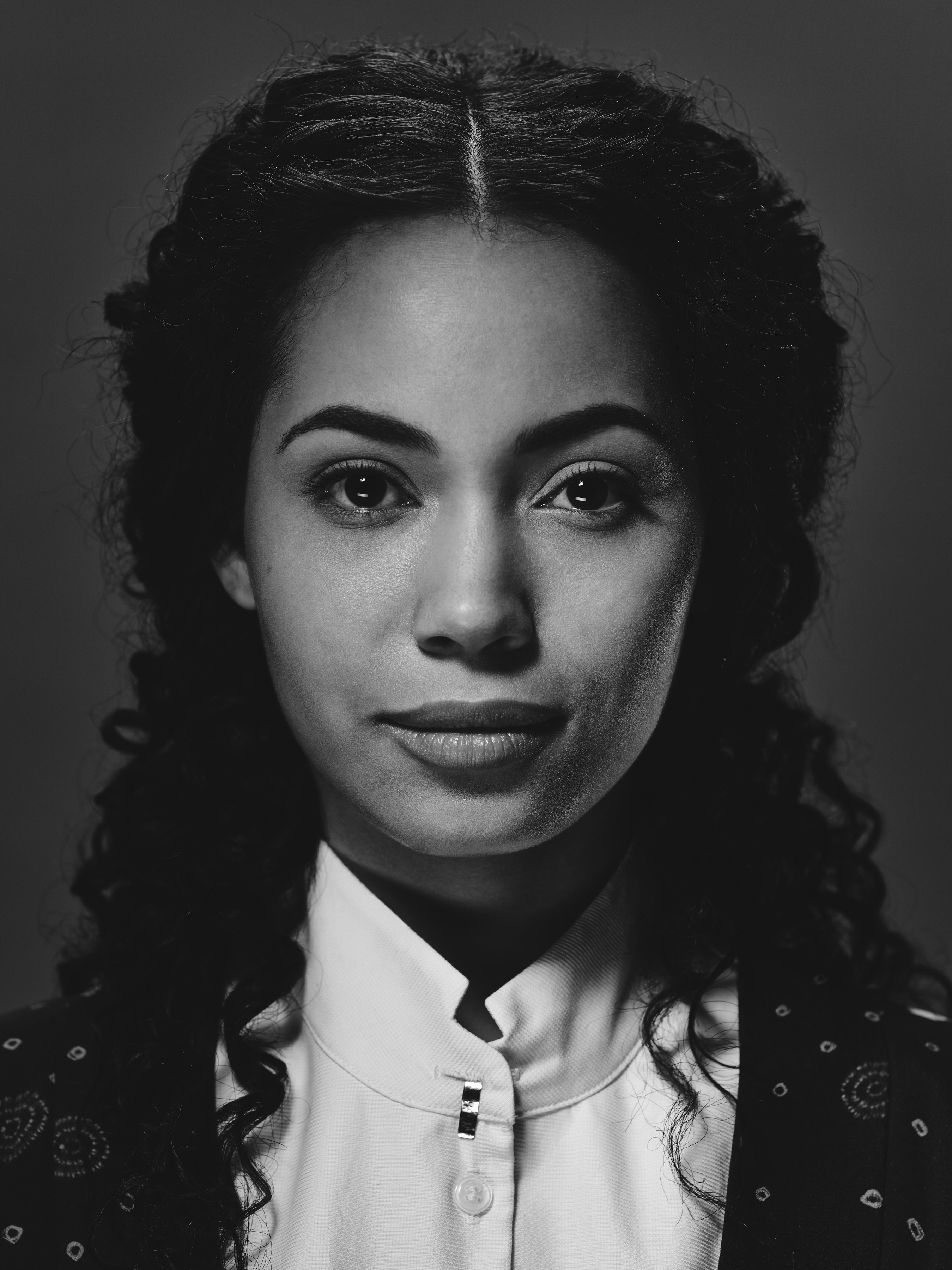 Madeleine Mantock as Veil - Into the Badlands _ Season 1, Gallery - Photo Credit: James Minchin III/AMC