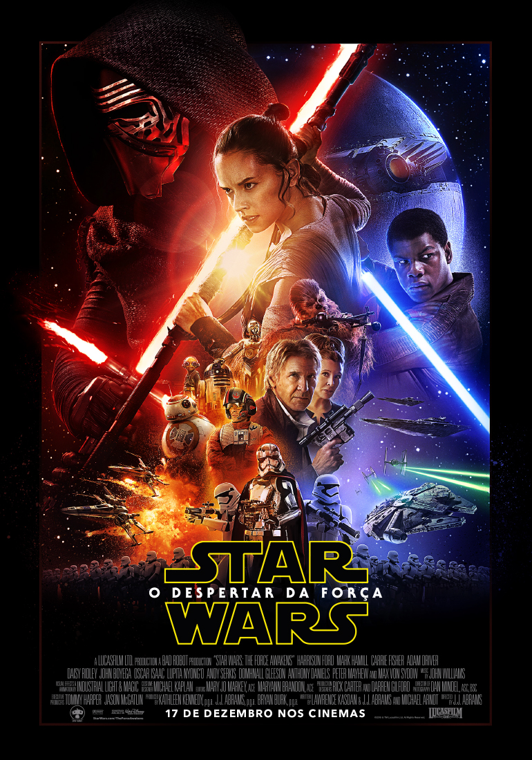 Star Wars Episode VII The Force Awakens-Brazil