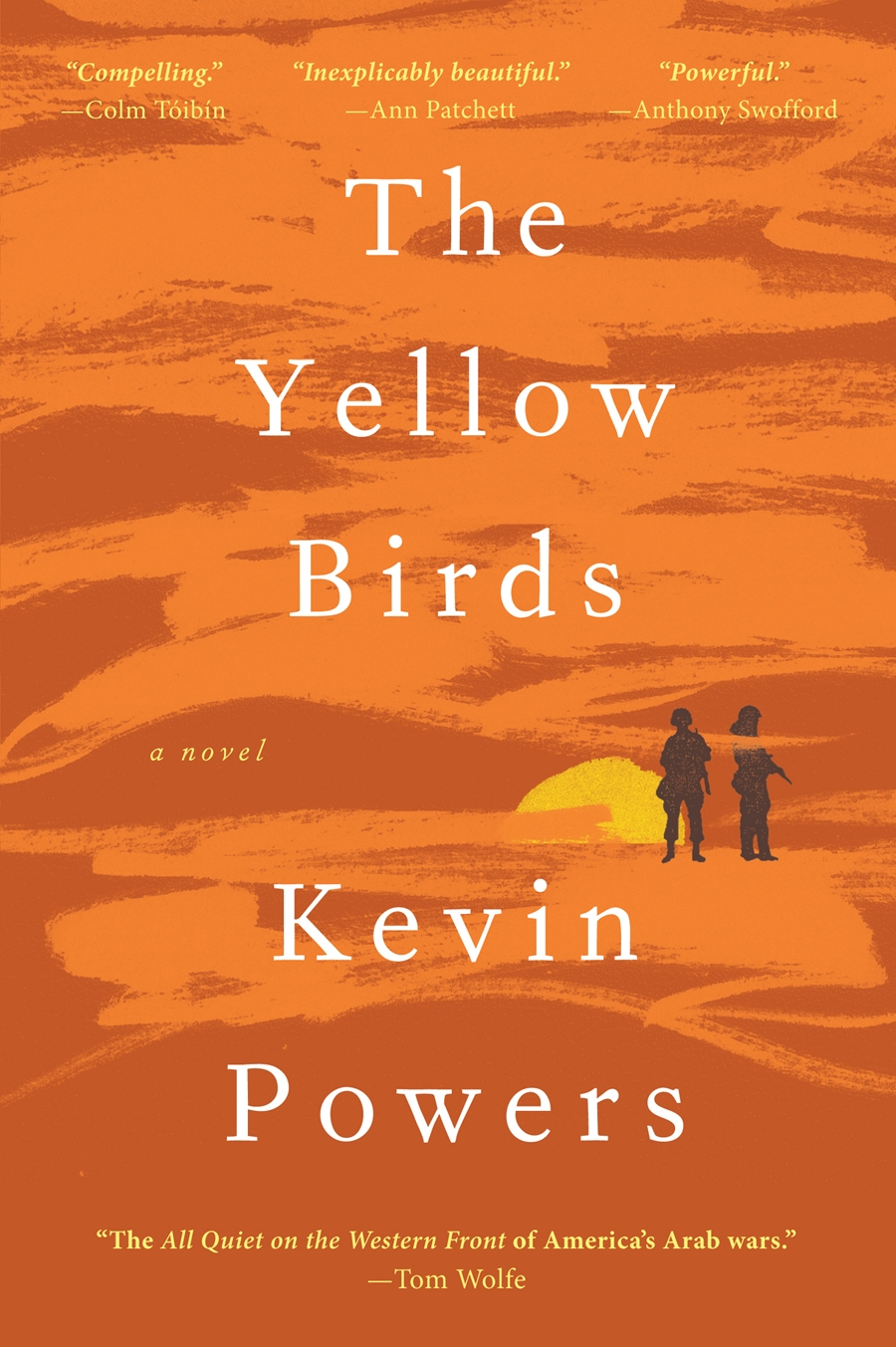 The Yellow Birds-Cover Book