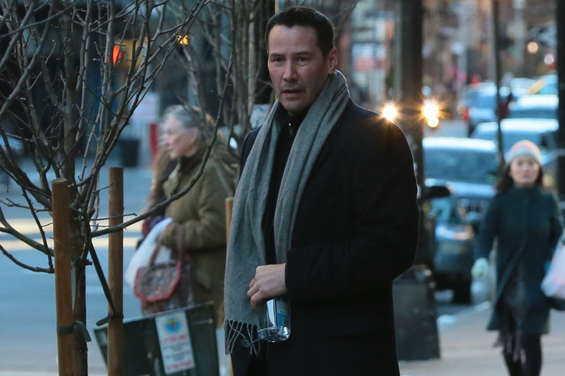 Keanu Reeves steps out in New York