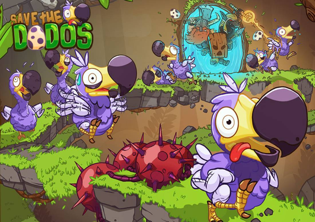 Save The Dodos - Puzzle Game