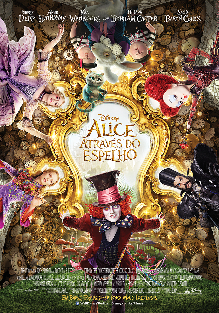 Alice In Wonderland Through the Looking Glass-Brazil