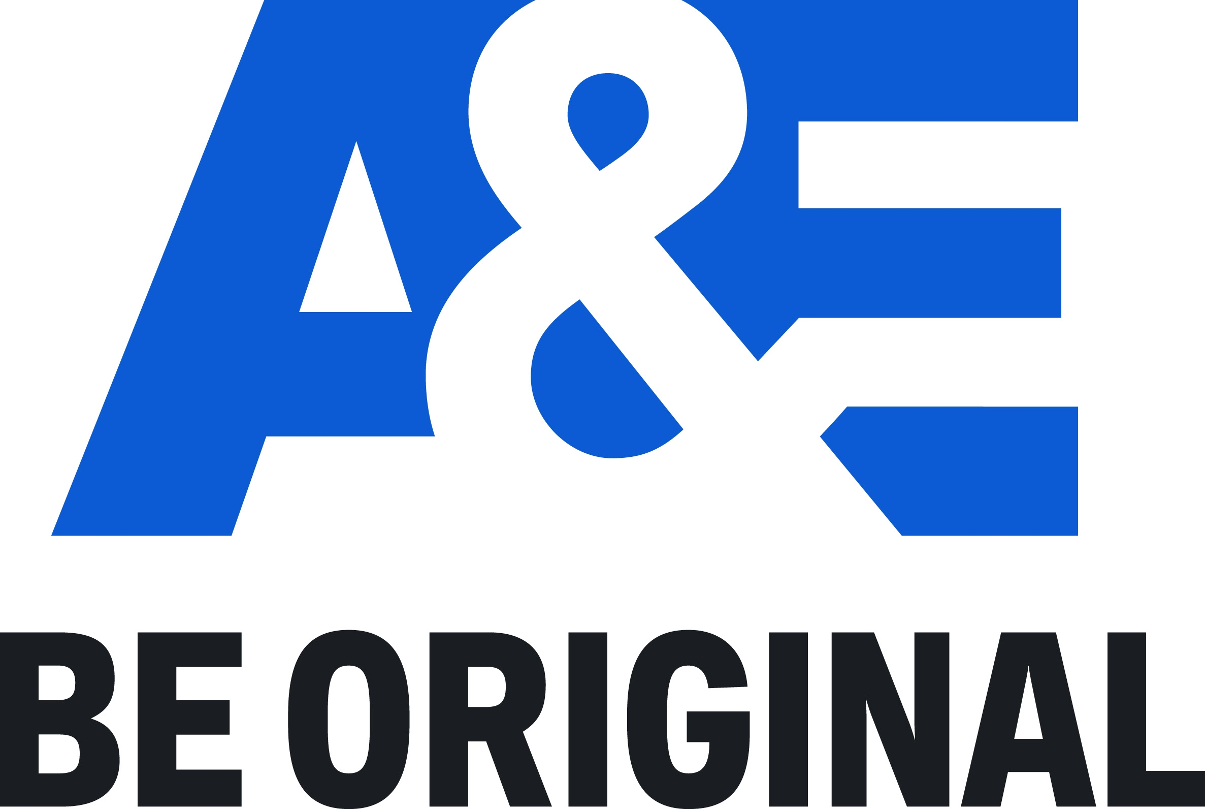 A&E_Logo_Tagline_Lockup_Stacked_BigSkyBlue_CoolCharcoal