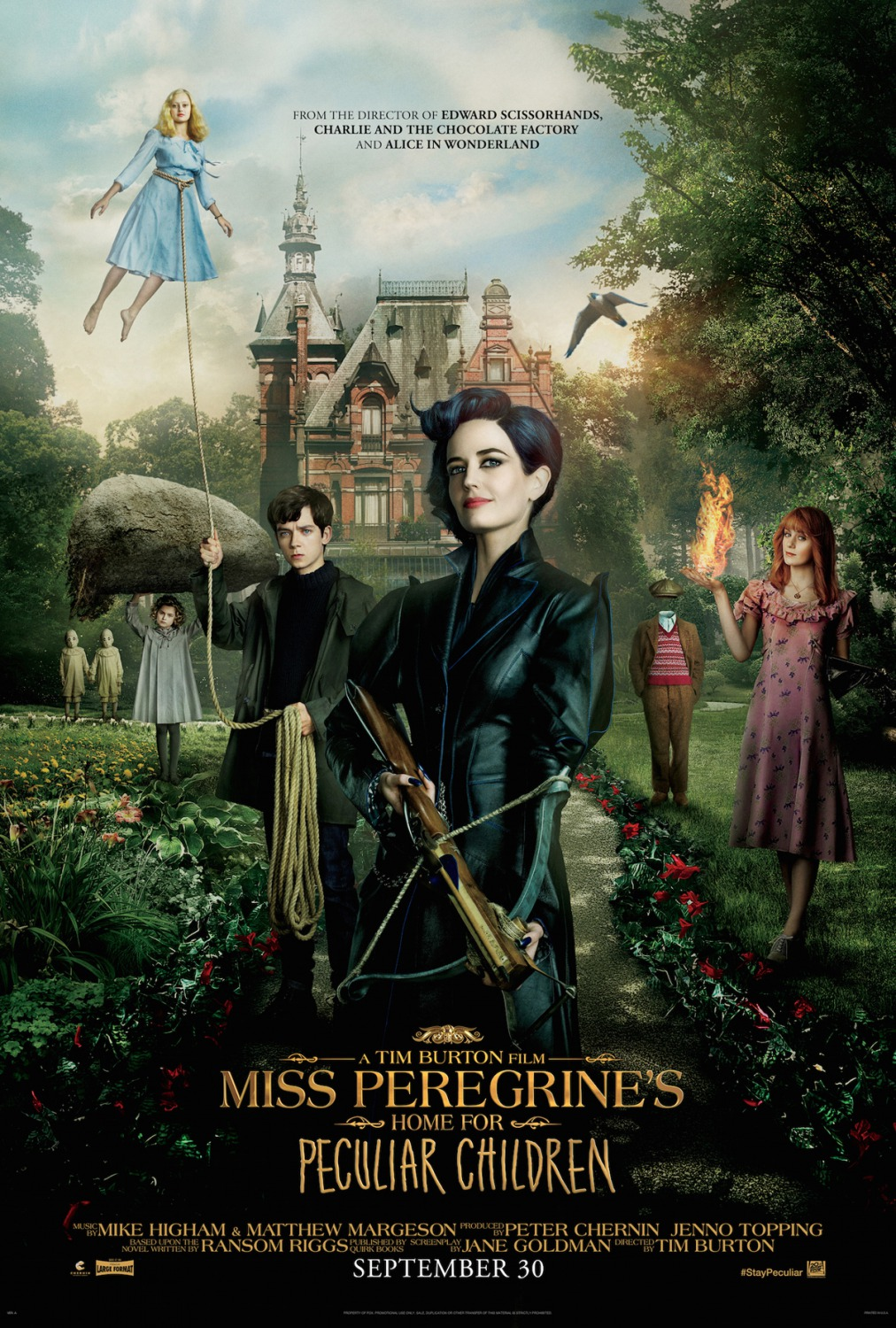 Miss Peregrines Home For Peculiar Children-15Março2016