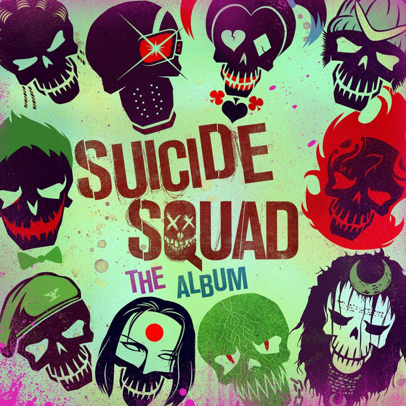 Suicide Squad-The Album