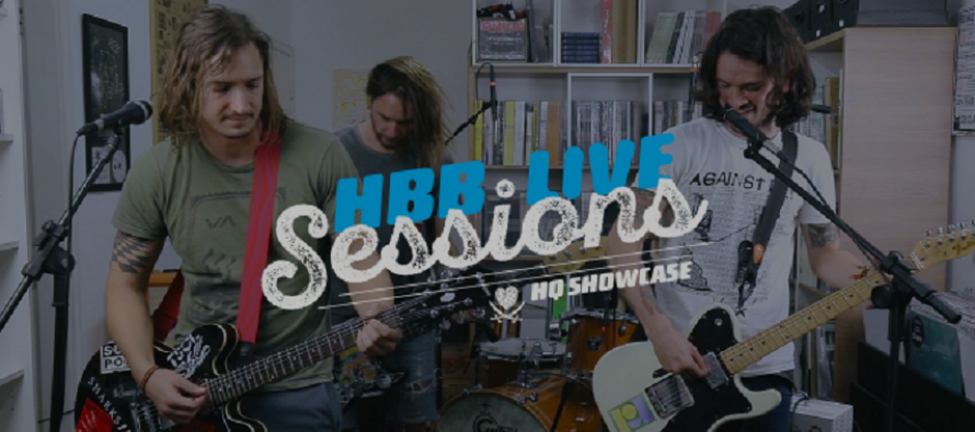 Water Rats faz pocket show visceral no HBB Live Sessions