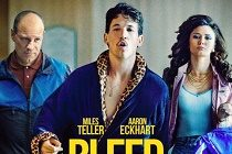 Miles Teller & Aaron Eckhart estampam PÔSTER de BLEED FOR THIS