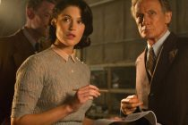 Gemma Arterton & Bill Nighy na primeira CENA de THEIR FINEST