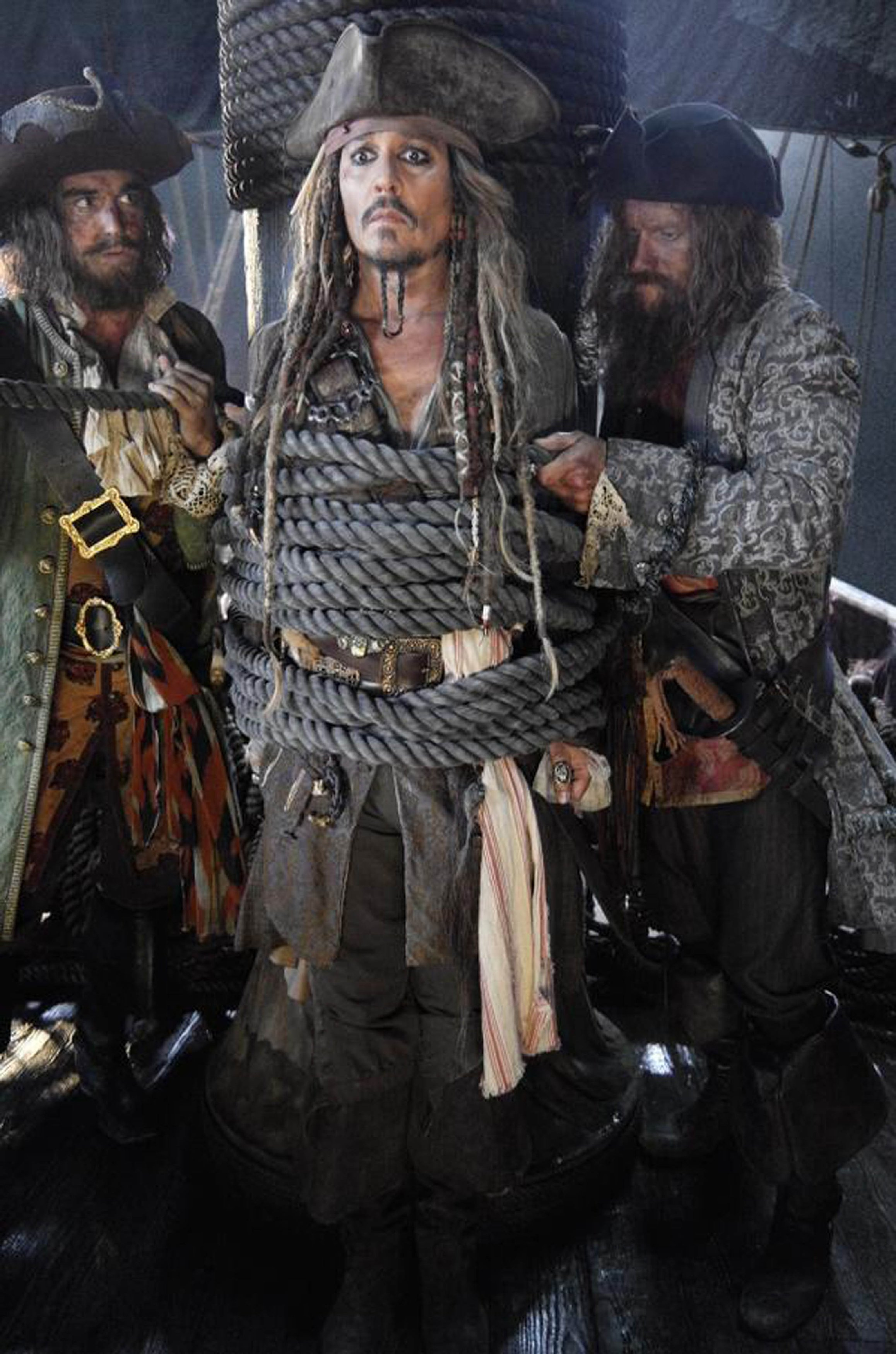 "22-4-2015 ""Pirates of the Caribbean: Dead Men Tell No Tales"" film still Pictured: Johnny Depp PLANET PHOTOS www.planetphotos.co.uk info@planetphotos.co.uk +44 (0)20 8883 1438"