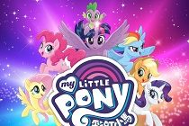 Pôneis coloridos no pôster internacional de 'My Little Pony: The Movie'