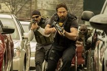 Gerard Butler persegue 50 Cent no trailer e pôster do thriller criminal 'Den of Thieves'